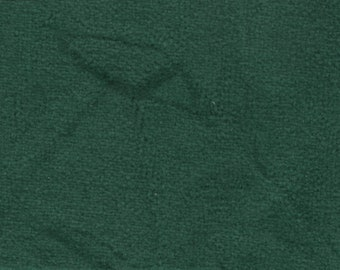 BTY vintage 1990 Lincoln plush green velour auto upholstery
