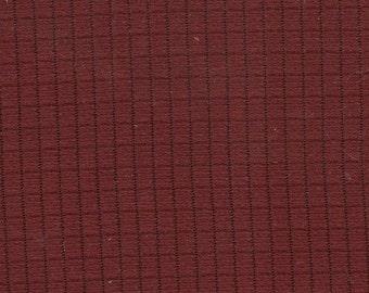 BTY Vintage Mercury Red Windowpane Nylon Auto Upholstery