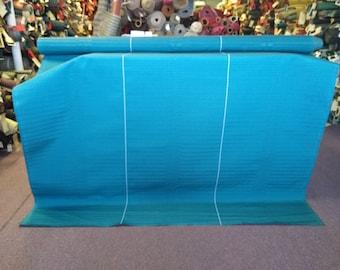 BTY mid century 1969 Chevrolet Malibu turquoise panel upholstery