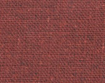 BTY vintage red and orange tweed auto upholstery