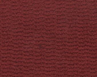 BTY vintage 1987 Pontiac Grand Am dark red velour upholstery