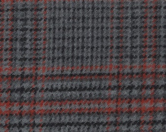 BTY vintage 1980 Toyota Celica G.T. grey black and red plaid upholstery