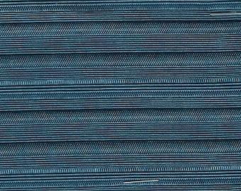 BTY 1969 Chevrolet Malibu/Chevelle Bright Blue Paneled Auto Upholstery with Horizontal Stripes