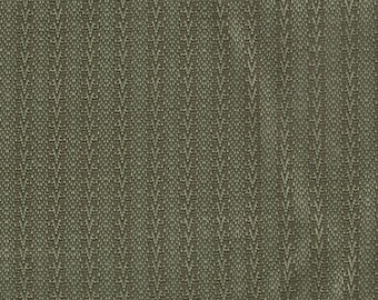 BTY vintage 1964 Buick Skylark green stripe chevron upholstery