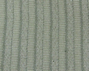 BTY vintage 1972 Buick  auto upholstery light olive green stripes