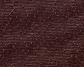 BTY vintage 1968 Buick Skylark dark wine color thick satin with little dots
