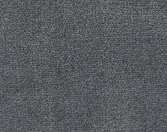 1 1/2 Yards Vintage Grey Plush Velour Auto Upholstery