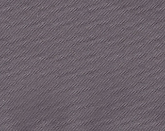 BTY Vintage Plymouth Grey Cloth Auto Upholstery w/ Subtle Diagonal Lines