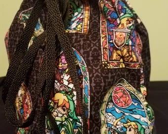 Legend of Zelda Stained Glass Dice Bag