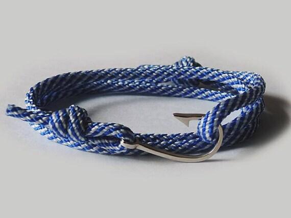Haken Sie Seil Nautischen Armband Nautischen Haken Armband Etsy