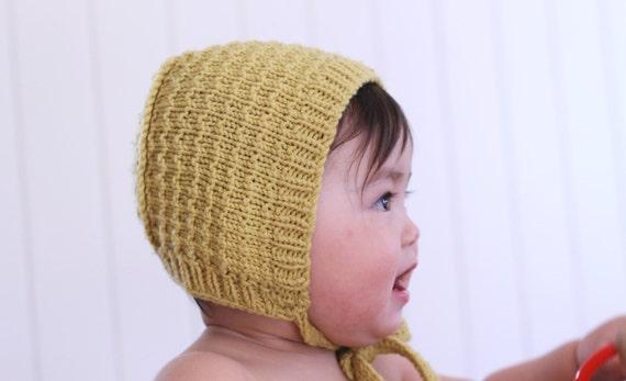 abc928dd69be Baby bonnet knitting pattern Astrid pdf download   Etsy