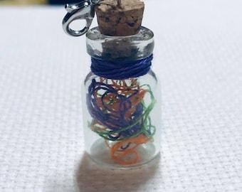 Ort Jar Charm - Ort Jar Scissor Fob - Ort Jar Key Chain