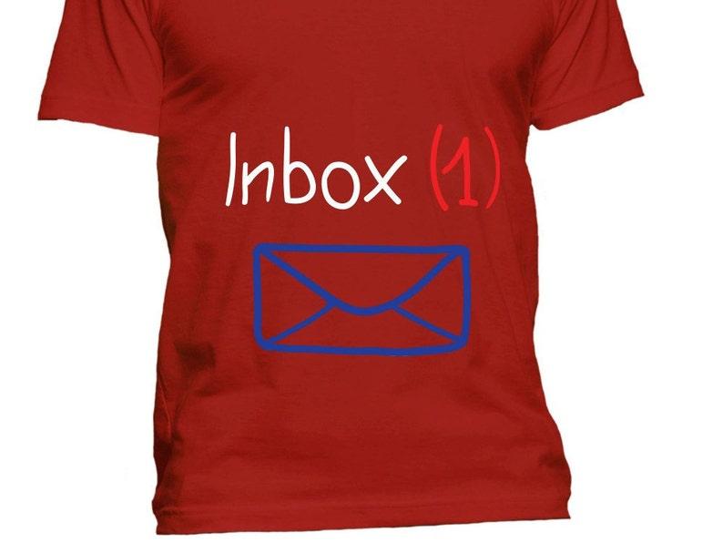 d3769e532a3dc Inbox Funny Maternity Shirts Summer Maternity Clothes | Etsy