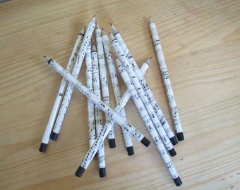 Origami Paper Musical Pencils Set of 3