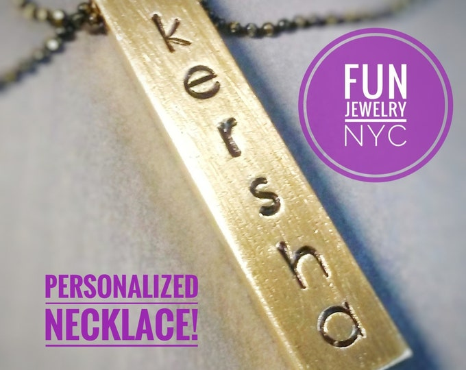 PERSONALIZED NECKLACE!