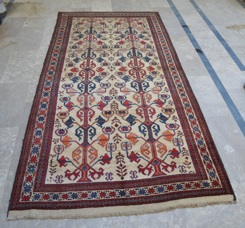 4 7 X 9 7 Feet Beautiful Vintage Afghan Tribal Etsy
