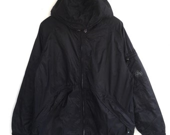d7e5f9c95f Vtg rare 90s Nike ACG storm fit outdoor weathergear hoodies zipper jacket  size Medium