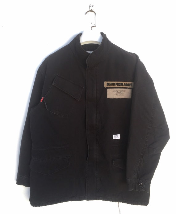 Vtg 90s Wtaps x Neighborhood M65 field jacket size