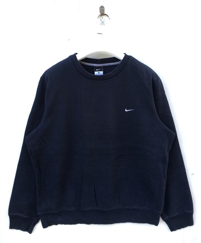 low priced b4b3d cb7db Nike swoosh small logo embroideries sweatshirt hip hop swag   Etsy
