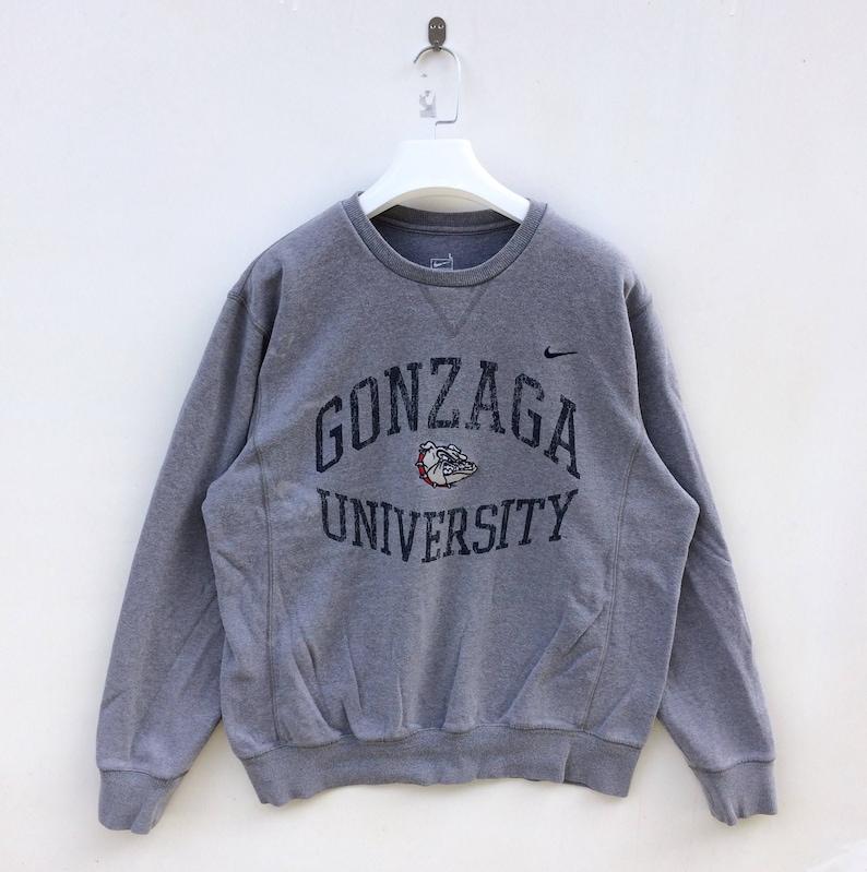 quality design d2cb2 63985 Vtg 90s Nike Gonzaga University nike swoosh small   Etsy