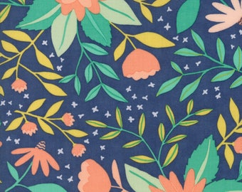 Moda - Midnight Garden - Dusk - 36020 16 - 100% cotton - Fabric by the yard(s)