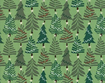 Moda - Merry Merry by Kate Spain - Spruce 27275 11 - 100% cotton - Fabric by the yard(s)