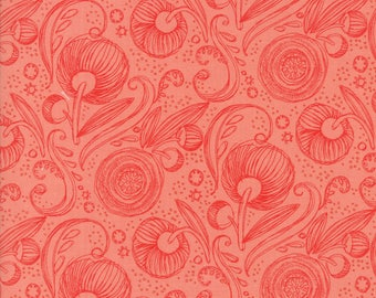 Moda - Blushing Peonies by Robin Pickens - Petal - 48613 14 - 100% cotton fabric - Fabric by the yard(s)