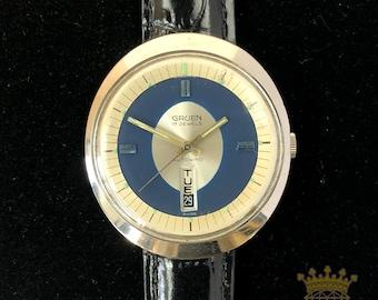 Vintage Men's Gruen Autowind Wrist Watch
