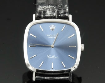 Rolex Cellini 18kt White Gold with Original Box and Papers