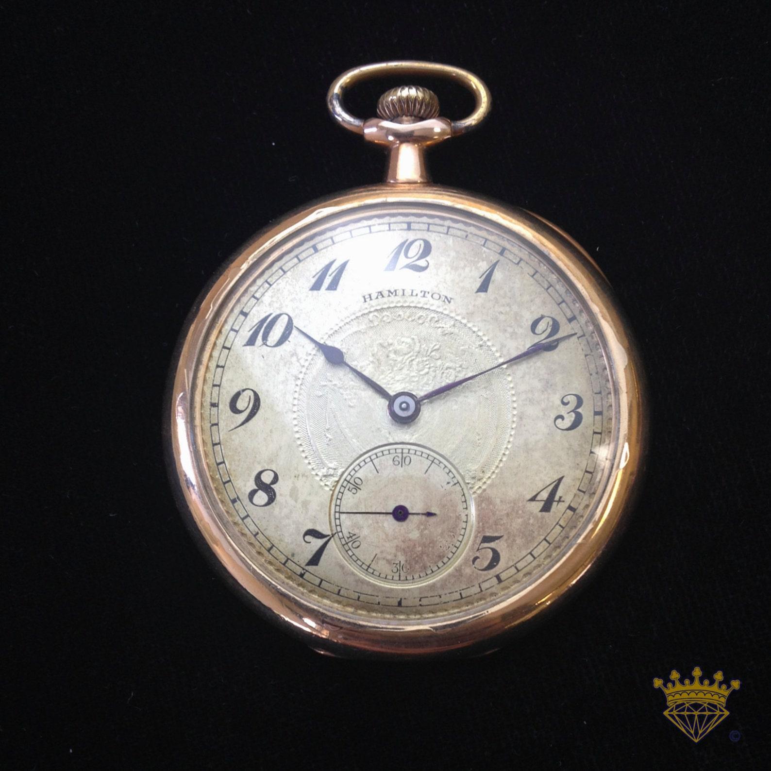 Pocket watch swinging — img 6