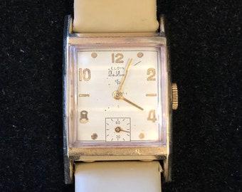 Elgin Deluxe Wrist Watch 17J c.1949