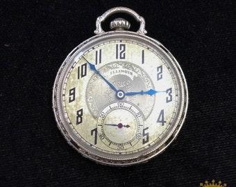 Illinois OF 17 jewel Pocket Watch c.1926 size 8