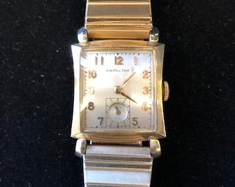Hamilton 22 Jewel Mechanical Wrist Watch c.1950's
