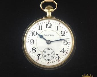 Hampden Pocket Watch OF c. 1913