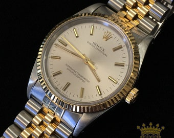 Rolex Oyster Perpetual Two Tone Jubilee c. 1991