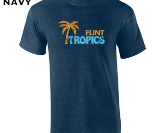 43736d9c5de17 Flint Tropics funny moon costume basketball movie college party vintage  retro - Mens T-shirt - apparel clothing - 155