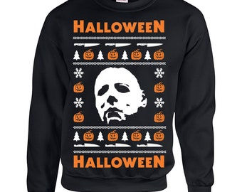 Halloween Ugly Sweater Etsy