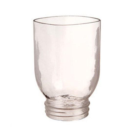 Open-Bottom Mason Jar: Clear, Quart Sized, 5.75 inches
