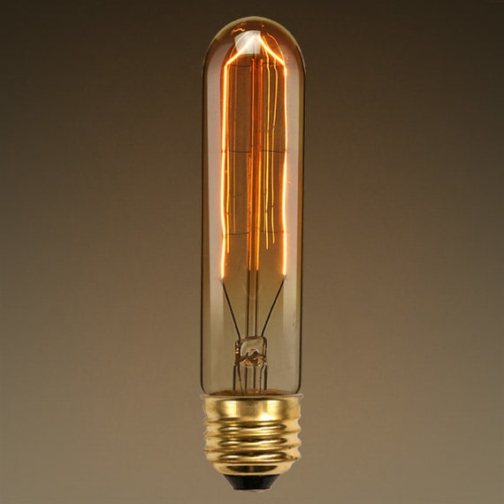 20 Watt - Vintage Antique Light Bulb - T10 Tubular Style