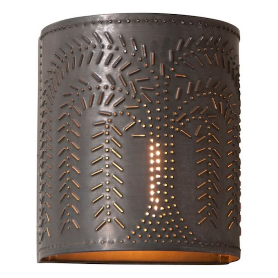 Willow Sconce Light in Kettle Black , Farmhouse,retro ,light fixture