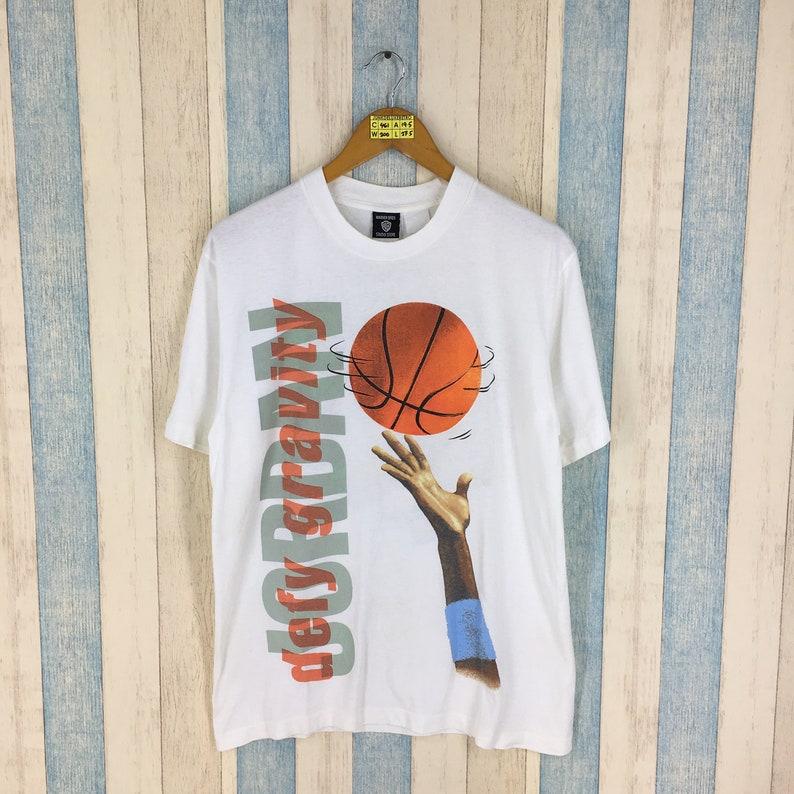 162224b6985345 LOONEY TUNES Space Jam Shirt Unisex Medium Vintage 90 s