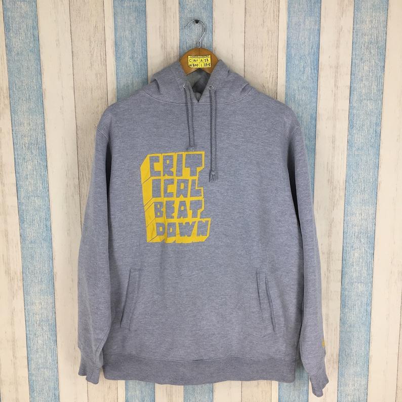 0d6465328357 STUSSY Hoodie Sweater Medium Gray Vintage 90s Stussy Usa