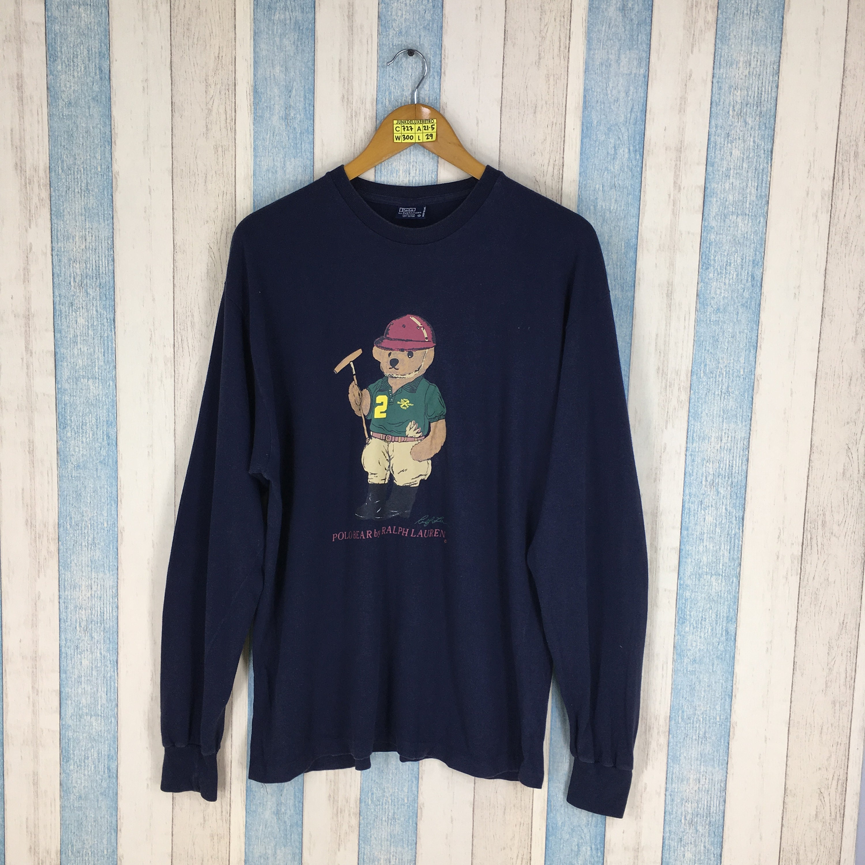 355e43fd6 POLO BEAR T shirt Polo Ralph Lauren Medium Vintage 90's | Etsy