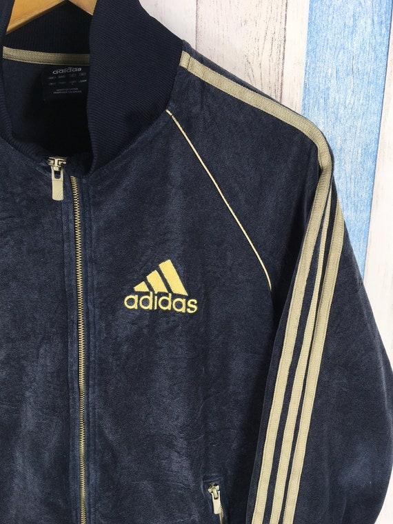 ADIDAS Jacke schwarz kleine Frauen Adidas Firebird Drei Streifen Track Top Adidas Sportswear Damen Adidas Zip Up Windbreaker Jacke Größe S