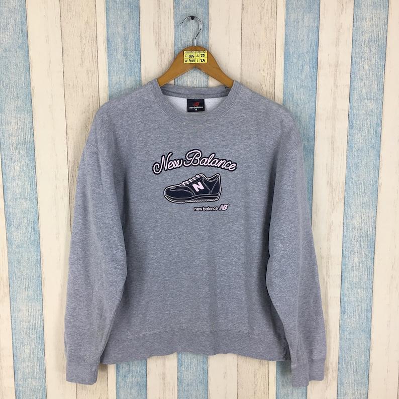 cb23892846b50 NEW BALANCE Sportswear Sweater Medium Nb Vintage 90's New | Etsy