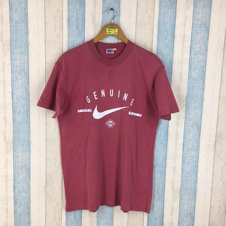 021db7a0817 NIKE Tshirt Red Large Vintage 1990's Sportswear Nike | Etsy