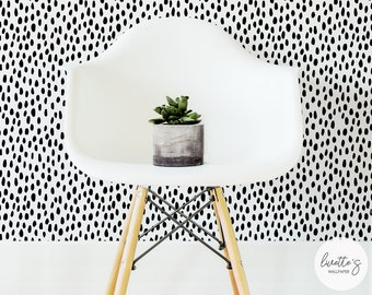 Spot Pattern Removable Wallpaper / Traditional or Self adhesive Wallpaper L044