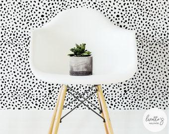 Dalmatian Removable Wallpaper / Traditional or Self adhesive Wallpaper
