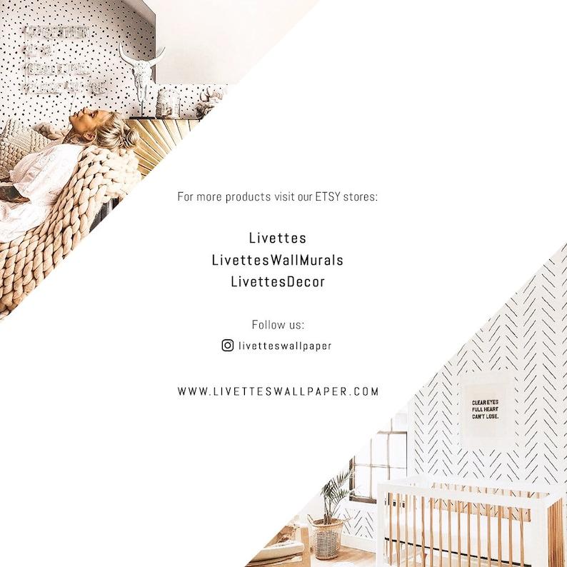 Kids Bedroom Animal Print Baby Girl Room Decor Wall Decal Navy Blue Dalmatian Removable Wallpaper