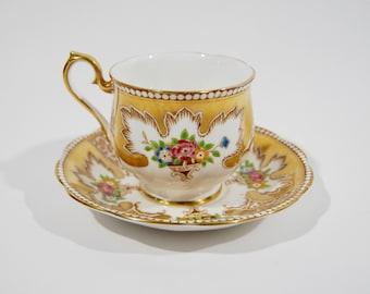 Vintage Royal Albert bone china teacup and saucer